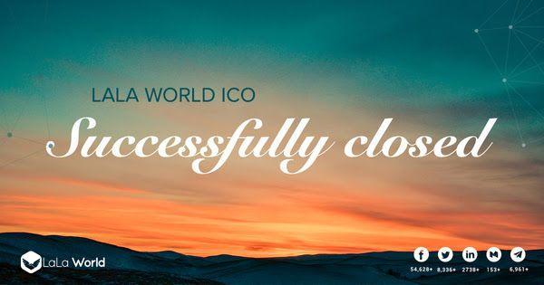 L'ICO LALA WORLD est terminée !